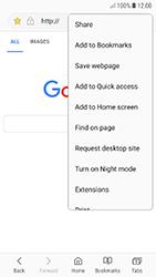 Samsung A320F Galaxy A3 (2017) - Android Oreo - Internet - Internet browsing - Step 18