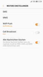 Samsung Galaxy S7 - Android Nougat - SMS - Manuelle Konfiguration - Schritt 7