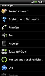HTC Desire Z - Internet - Manuelle Konfiguration - 4 / 21