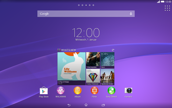 Sony Xperia Tablet Z2 LTE - Software - Update - Schritt 1