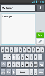 LG E460 Optimus L5 II - MMS - Sending pictures - Step 8