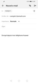 Huawei P Smart 2020 - E-mails - Envoyer un e-mail - Étape 7