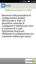 Alcatel Pop C7 - E-mail - configurazione manuale - Fase 9