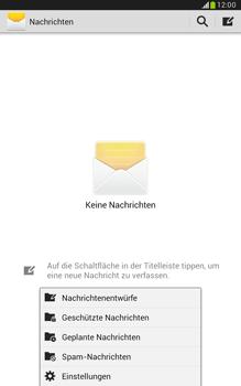 Samsung N5100 Galaxy Note 8-0 - SMS - Manuelle Konfiguration - Schritt 5
