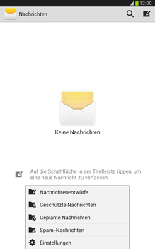 Samsung Galaxy Note 8-0 - SMS - Manuelle Konfiguration - 5 / 9