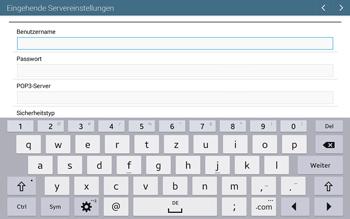 Samsung T535 Galaxy Tab 4 10.1 - E-Mail - Manuelle Konfiguration - Schritt 8