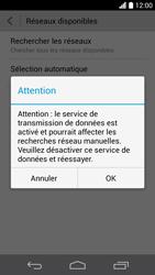 Huawei Ascend P6 - Réseau - Sélection manuelle du réseau - Étape 6