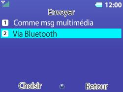 Bouygues Telecom Bc 311 - Photos, vidéos, musique - Envoyer une photo via Bluetooth - Étape 7