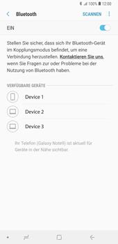 Samsung Galaxy Note9 - Bluetooth - Geräte koppeln - Schritt 10