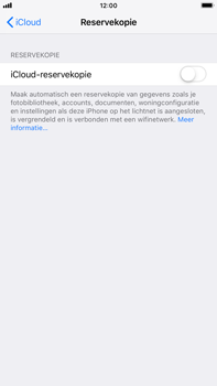 Apple iPhone 6 Plus - iOS 12 - toestel resetten - back-up maken met jouw account - stap 12