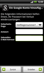 HTC X315e Sensation XL - Apps - Konto anlegen und einrichten - Schritt 12