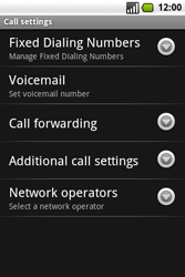 Samsung I7500 Galaxy - Voicemail - Manual configuration - Step 5