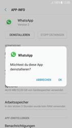 Samsung Galaxy A5 (2017) - Android Nougat - Apps - Eine App deinstallieren - Schritt 7