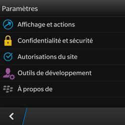 BlackBerry Q10 - Internet et roaming de données - Configuration manuelle - Étape 15