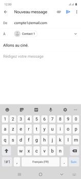 Samsung Galaxy Note 10 Lite - E-mails - Envoyer un e-mail - Étape 9