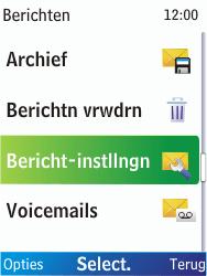 Nokia X2-00 - SMS - Handmatig instellen - Stap 5