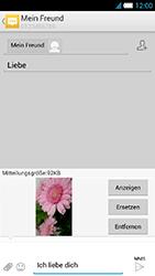 Alcatel OT-6034 Idol S - MMS - Erstellen und senden - Schritt 19