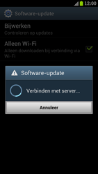 Samsung I9300 Galaxy S III - Software updaten - Update installeren - Stap 8