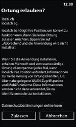 Nokia Lumia 800 / Lumia 900 - Apps - Installieren von Apps - Schritt 9