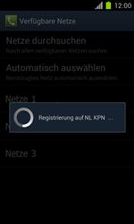 Samsung Galaxy S II - Netzwerk - Manuelle Netzwerkwahl - Schritt 10