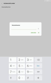 Samsung Galaxy Tab A 10.1 - Android Nougat - Voicemail - Handmatig instellen - Stap 9