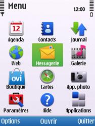 Nokia C5-00 - E-mail - envoyer un e-mail - Étape 2