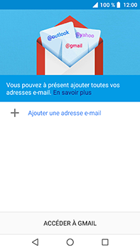 Crosscall Trekker X4 - E-mails - Ajouter ou modifier votre compte Gmail - Étape 5