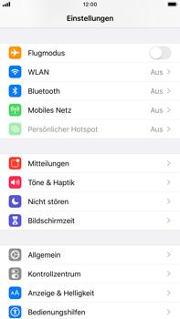 Apple iPhone 7 Plus - iOS 13 - Internet und Datenroaming - Prüfen, ob Datenkonnektivität aktiviert ist - Schritt 3