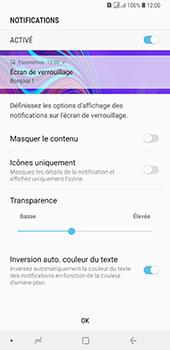 Samsung Galaxy A7 2018 - Sécuriser votre mobile - Activer le code de verrouillage - Étape 11