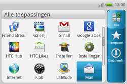HTC A810e ChaCha - e-mail - hoe te versturen - stap 3