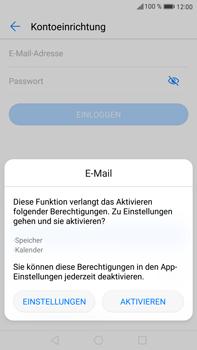 Huawei Mate 9 - E-Mail - Manuelle Konfiguration - Schritt 5