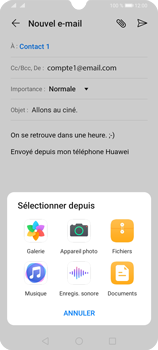 Huawei Y6P - E-mails - Envoyer un e-mail - Étape 10