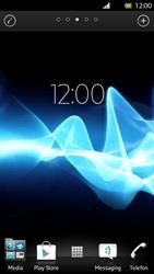 Sony Xperia S - Startanleitung - Installieren von Widgets und Apps auf der Startseite - Schritt 3