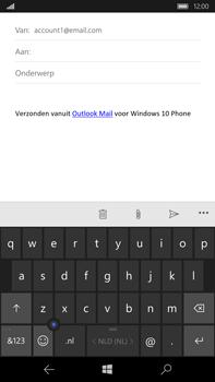 Microsoft Lumia 950 XL - E-mail - E-mail versturen - Stap 5