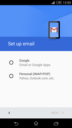 Sony Xperia Z3 Compact - E-mail - 032a. Email wizard - Gmail - Step 7