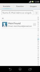 Sony Xperia L - E-Mail - E-Mail versenden - Schritt 6