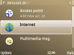 Nokia E72 - Internet - Manual configuration - Step 7