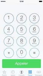 Apple iPhone 5 - Contact, Appels, SMS/MMS - Utiliser la visio - Étape 3