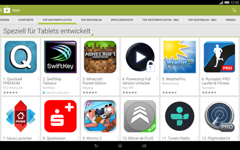 Sony Xperia Tablet Z2 LTE - Apps - Herunterladen - Schritt 7