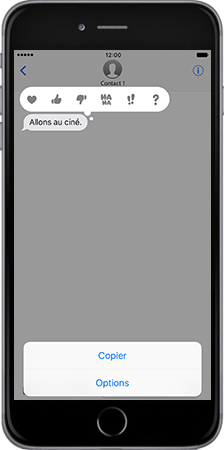 Apple Apple iPhone 7 - iOS features - Fonctions iMessage - Étape 6