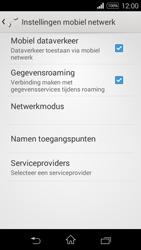 Sony D2203 Xperia E3 - Internet - Internet gebruiken in het buitenland - Stap 10