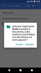 Sony Xperia XZ Premium - Android Oreo - E-mail - envoyer un e-mail - Étape 10