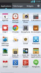 LG Optimus F6 - E-mails - Ajouter ou modifier un compte e-mail - Étape 3