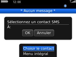 BlackBerry 8520 - Contact, Appels, SMS/MMS - Envoyer un SMS - Étape 7