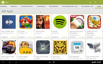 Sony Xperia Tablet Z LTE - Apps - Herunterladen - 12 / 21