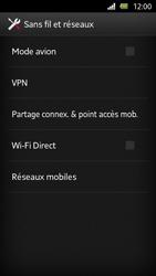 Sony Xperia U - Internet et roaming de données - Désactivation du roaming de données - Étape 5