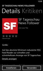 HTC Windows Phone 8S - Apps - Herunterladen - 7 / 20
