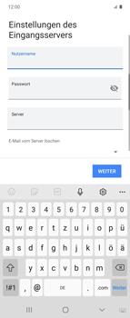 Samsung Galaxy Z flip - E-Mail - Manuelle Konfiguration - Schritt 14