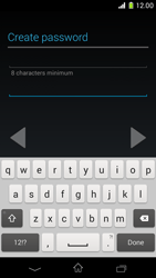 Sony Xperia Z1 Compact - Applications - Setting up the application store - Step 11