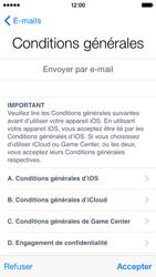 Apple iPhone 5 (iOS 8) - Premiers pas - Créer un compte - Étape 30